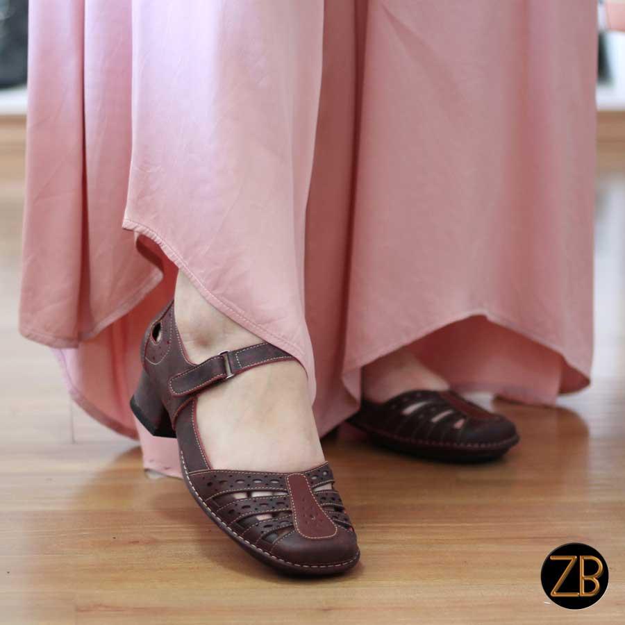 Sapato Boneca Salto Grosso Quadrado Estilo Retrô Vintage  0012