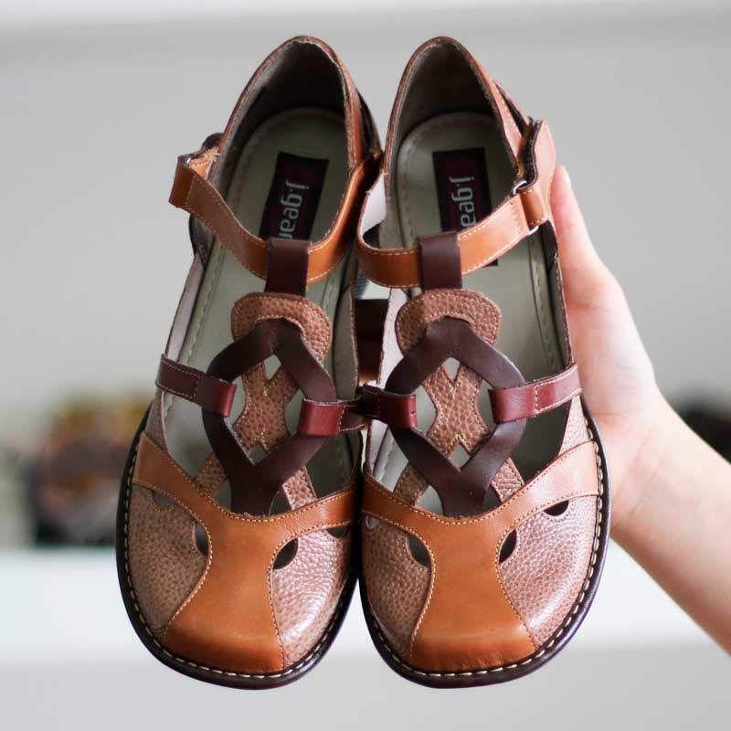 Sapato Boneca Salto Grosso Quadrado Estilo Retrô Vintage Caramelo CK0079