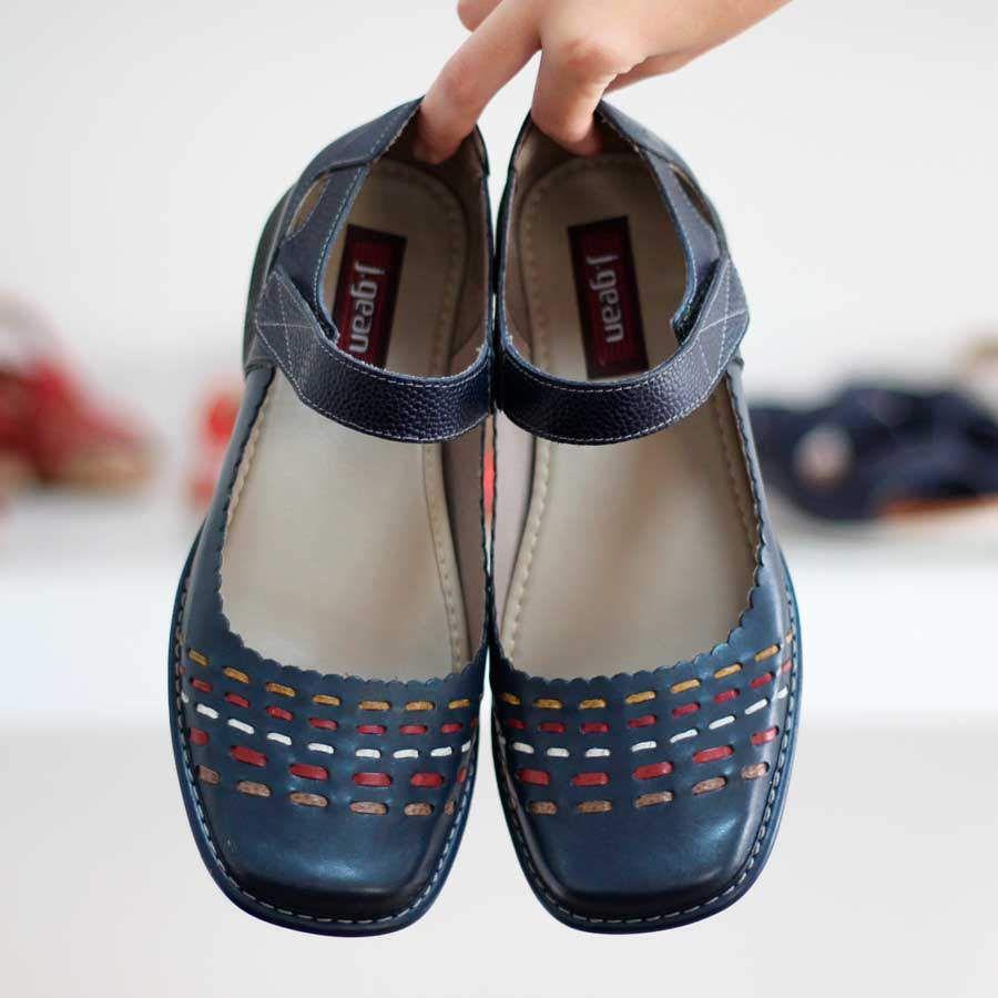Sapato feminino Retrô Vintage Em Couro Legitimo CY0038