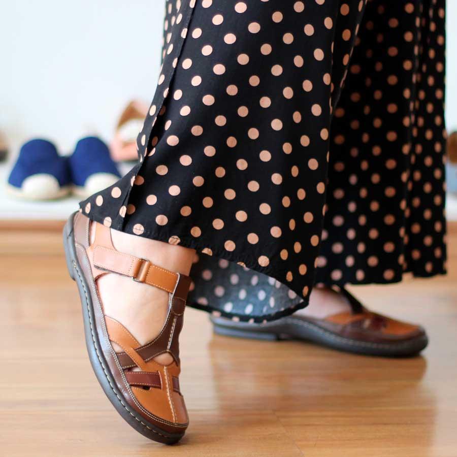 Sapato feminino Retrô Vintage Em Couro Legitimo Sapatilha EM0011