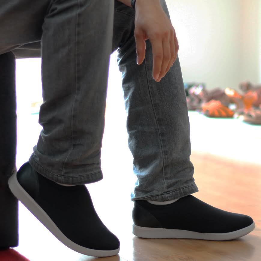 Sapato Masculino Solado conforto Tecido Lycra Preto Diabetes AC5307