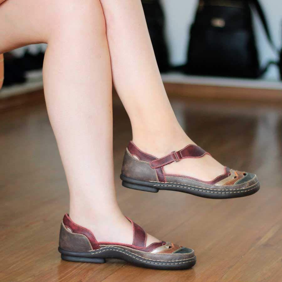 Sapato Sapatilha Boneca  Estilo Retrô Vintage AM0220