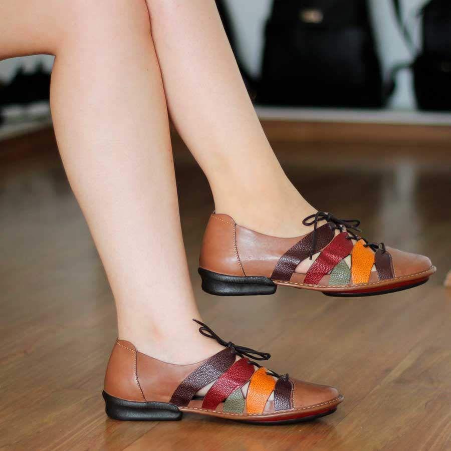 Sapato Sapatilha Boneca  Estilo Retrô Vintage CQ0037