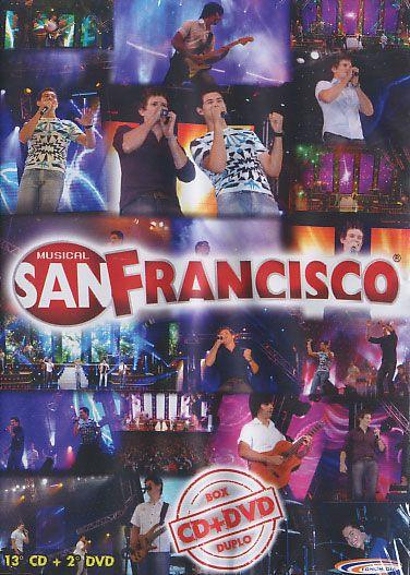13º CD + 2º DVD - Musical San Francisco - CD + DVD