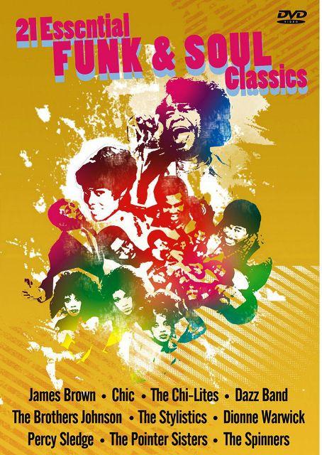 21 Essential Funk and Soul Classics - DVD