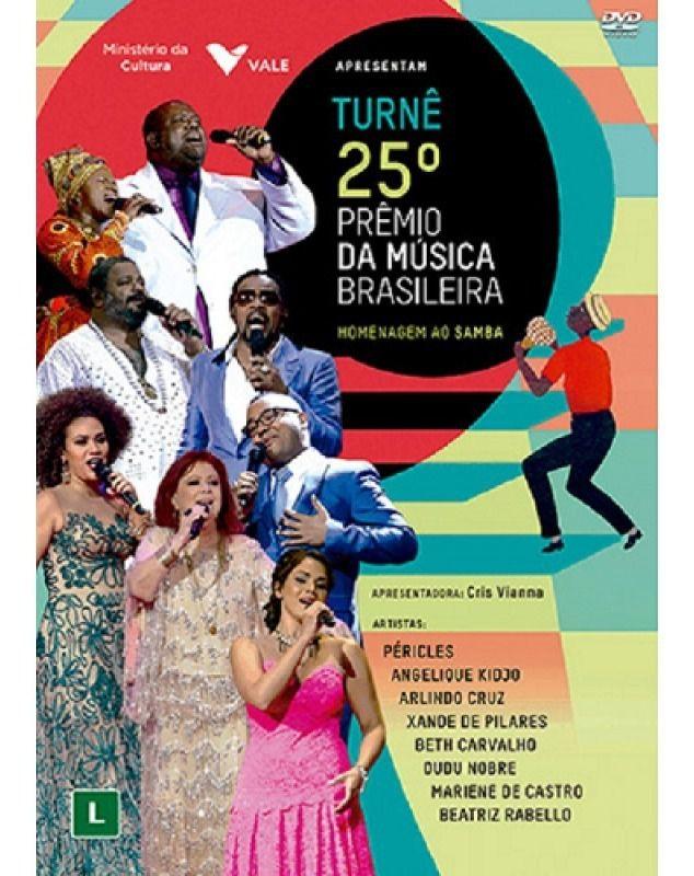25º Prêmio Da Musica Brasileira - Homenagem Ao Samba - DVD