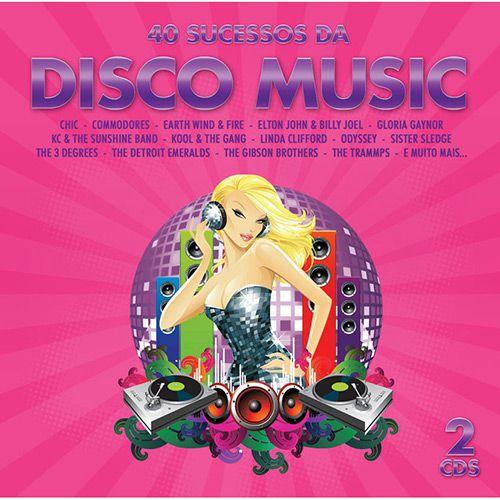 40 Sucessos Da Disco Music - Duplo - CD
