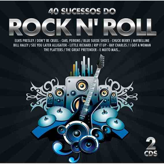 40 Sucessos Do Rock N Roll - Duplo - CD