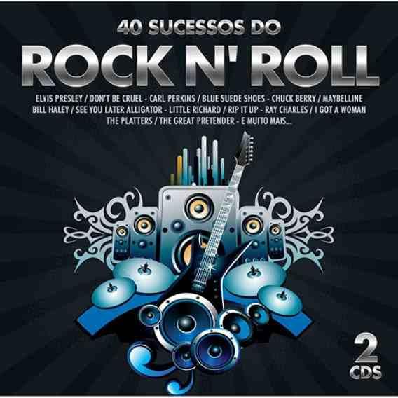 40 Sucessos Do Rock N Roll - Duplo - CD