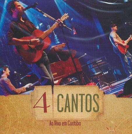 4 Cantos - Ao Vido Em Curitiba - CD