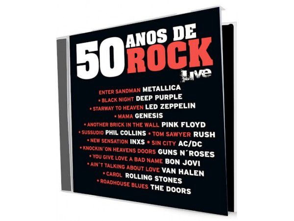 50 Anos De Rock - Live - CD
