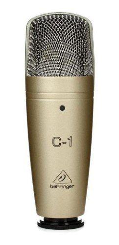 Microfone Behringer C-1 Condensador Cardióide Dourado