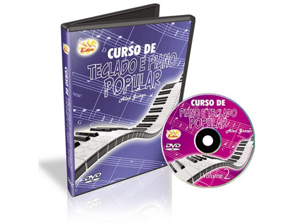 Alan Gomes - Curso De Teclado E Piano Popular - Volume 2 - CD
