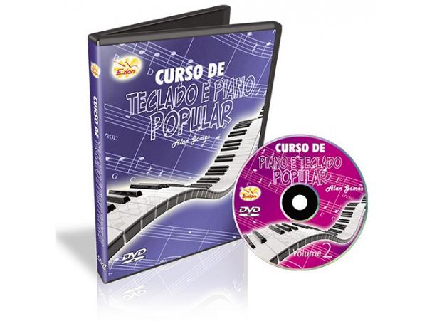 Alan Gomes - Curso De Teclado E Piano Popular - Volume 2 - CD