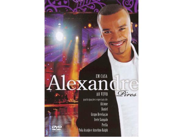 Alexandre Pires - Em Casa - Ao Vivo - (SlidePack) - DVD