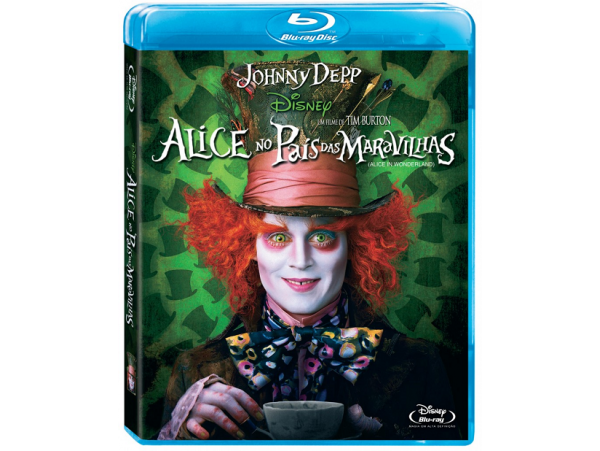 Alice No País Das Maravilhas - Blu-Ray