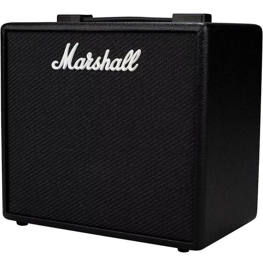Amplificador Cubo Guitarra Marshall Code 25 C/ Bluetooth e USB
