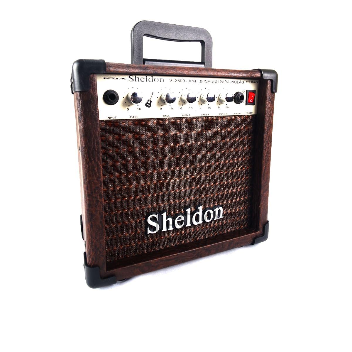 Amplificador Para Violão Sheldon Vl2800 - 15w