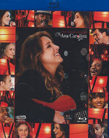 Ana Carolina - Multishow + Um Blu-Ray