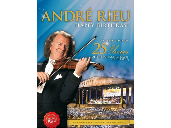 André Rieu - A Celebration of the 25 years  - DVD