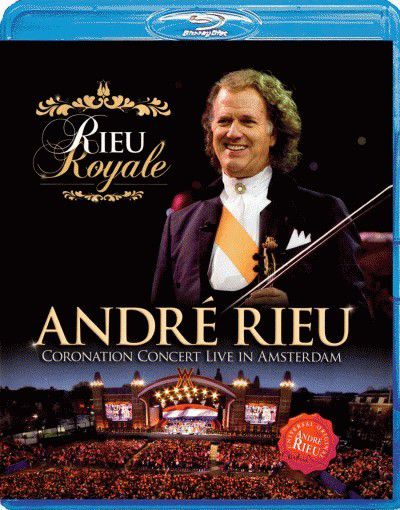 André Rieu - Coronation Concert Live I - Blu-ray