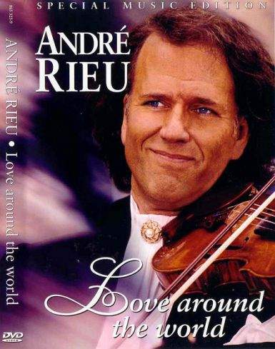 André Rieu - Love Around the World - DVD