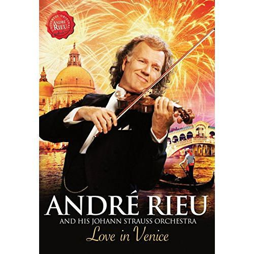 Andre Rieu - Love In Venice - The 10th Anniversary Concert - DVD