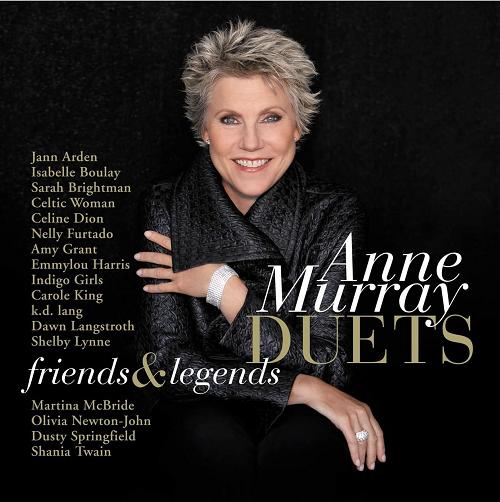 Anne Murray Duets -  Friends & Legends - CD