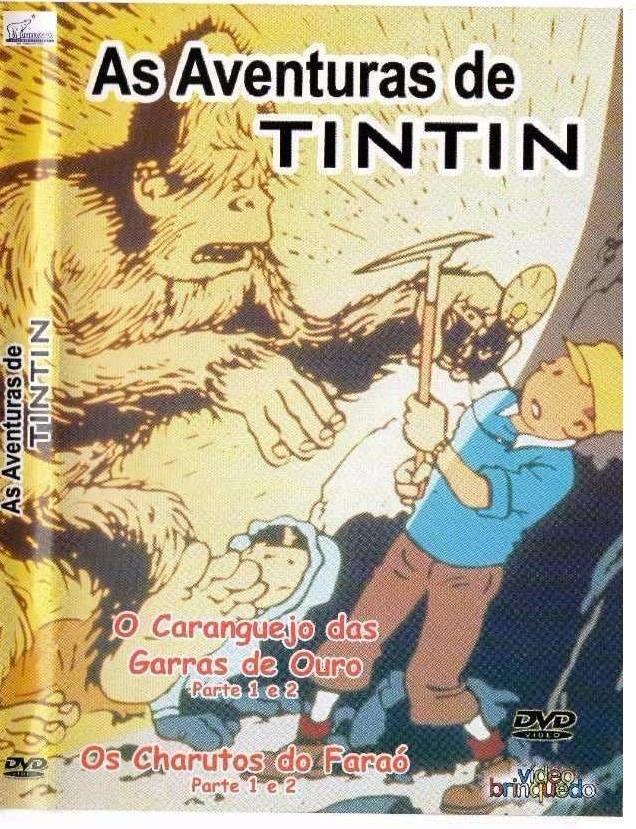 As Aventuras de TinTin - O Caranguejo Das Garras De Ouro