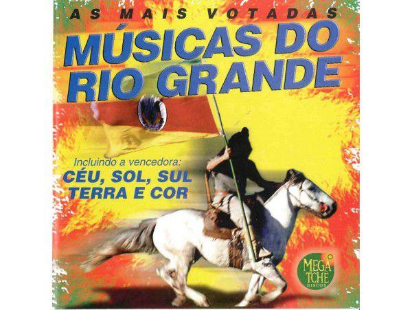 As Mais Votadas Músicas Do Rio Grande - CD