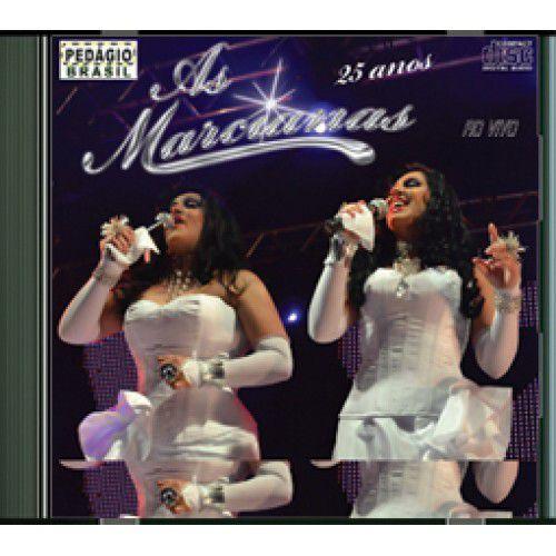 As Marcianas - 25 Anos - Ao Vivo  - CD