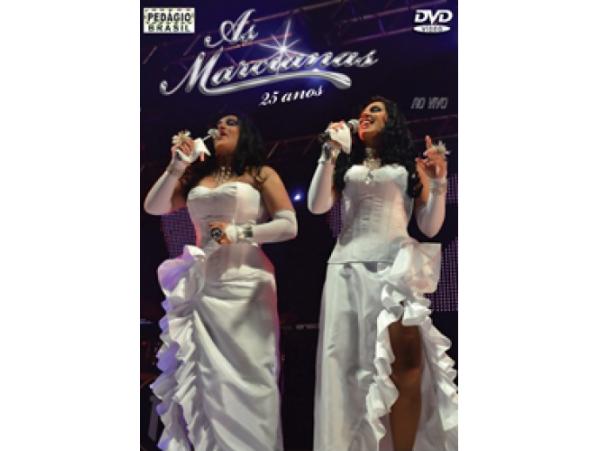 As Marcianas - 25 Anos Ao Vivo - DVD