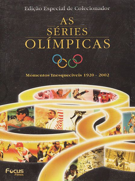 As Séries Olímpicas - Momentos  1920 - 2002 - Box - DVD