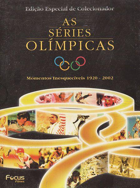 As Séries Olímpicas - Momentos  1920 - 2002 - Box - DVD