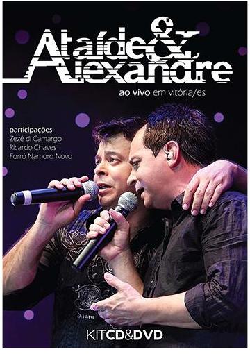 Ataíde & Alexandre - Em Vitória - Es - CD + DVD