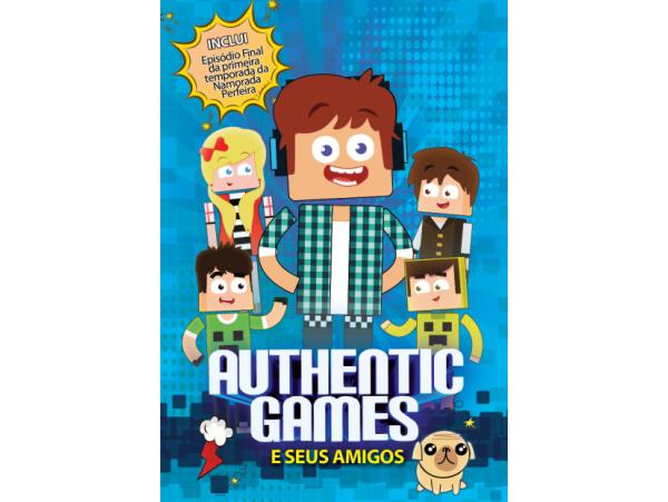 Authentic Games - E Seus Amigos - DVD