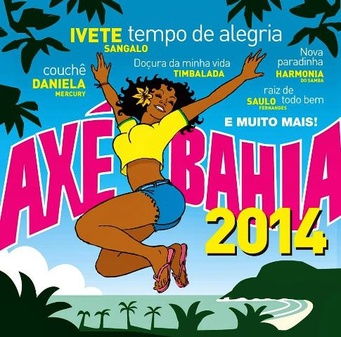 Axe Bahia 2014 - CD