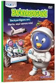 Backyardigans - Marte, Aqui Vamos Nos