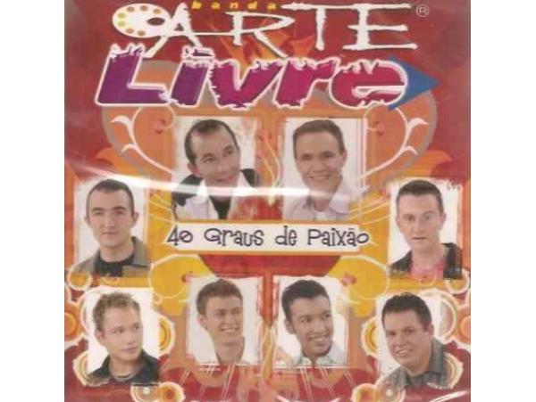 Banda Arte Livre - 40 Graus De Paixão - CD