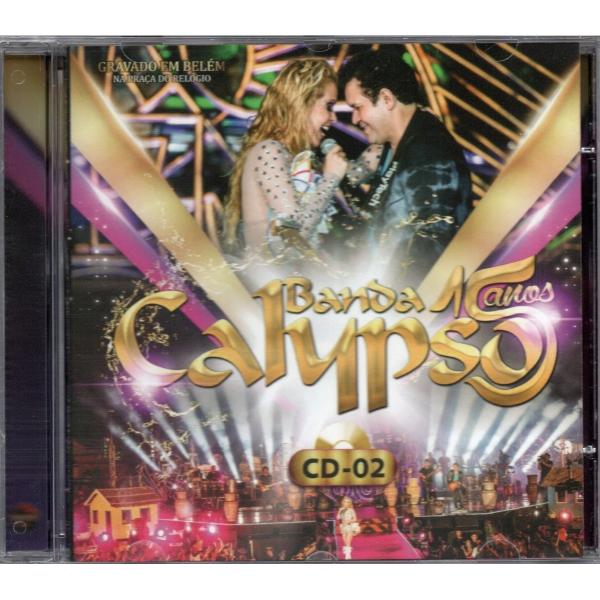 Banda Calypso - 15 Anos - Vol. 02 - CD