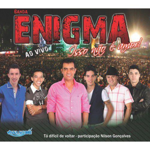 Banda Enigma - Ao Vivo - Isso Não É Amor (CD - Envelope)