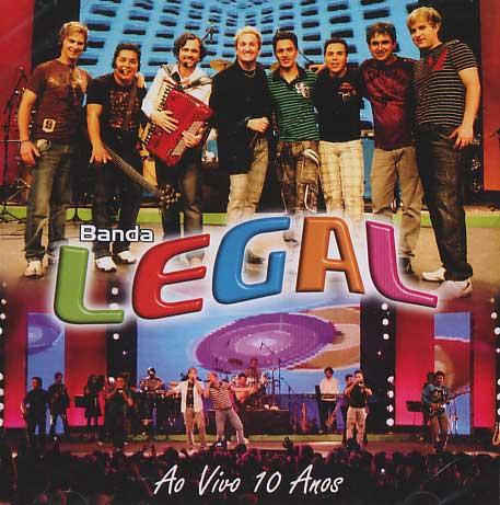Banda Legal - Ao Vivo 10 Anos - CD