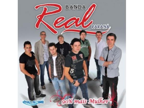 Banda Real do Paraná - 90% Mais Mulher  - (CD - Envelope)