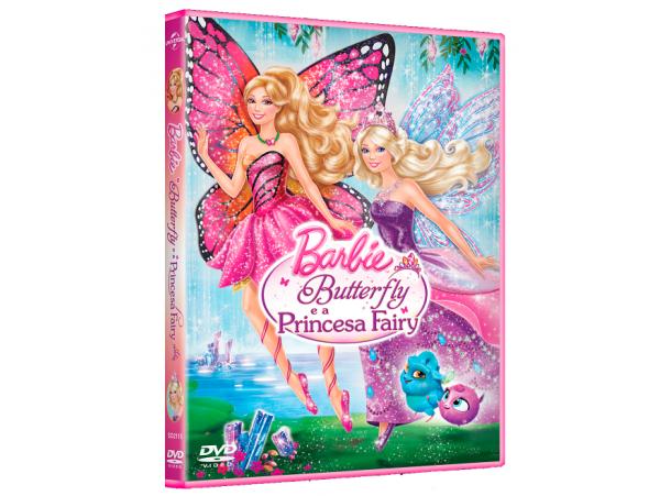 Barbie Butterfly E A Princesa Fairy - DVD