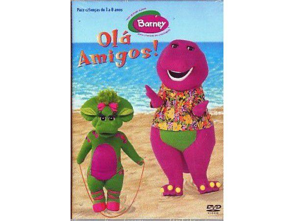 Barney - Mini-dvd - Ola Amigos!