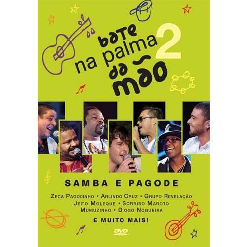 Bate na Palma da Mão 2 - Samba e Pagode (2013) - DVD