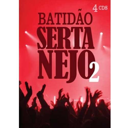 Batidao Sertanejo 2 - 4 CD'S - PROMOÇÃO!