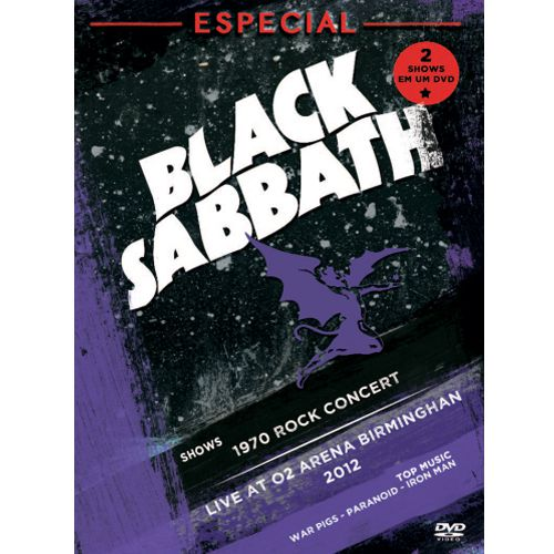 Black Sabbath - Especial Shows - DVD
