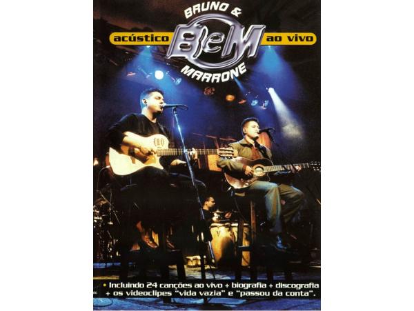 Bruno & Marrone - Acústico - Ao Vivo - DVD