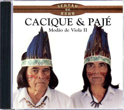 Cacique & Pajé - Modão de Viola II - CD